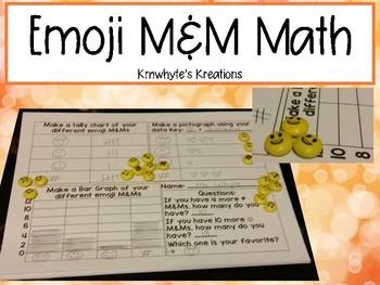 FREEBIE Emoji M&M Math