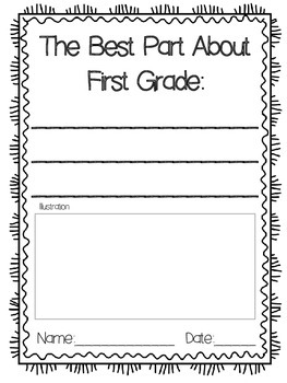 FREEBIE! End Of Year Writing Pack for K-5th