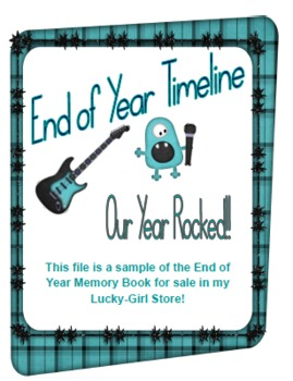 FREEBIE!  End of Year Timeline- This Year Rocked!