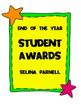 [FREEBIE] End-of-the-Year Classroom Award Certificates