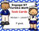 FREEBIE-Engage NY Eureka Math(1st grade)Module 1 Lesson 1 Task Cards -Scoot Game