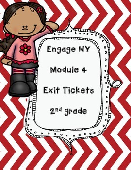 FREEBIE -Engage NY Module 4 EXIT Tickets