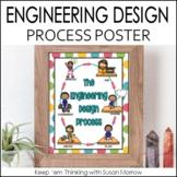 FREEBIE! Engineering Design Process Poster - 7 designs