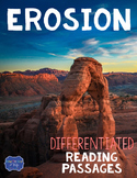 Erosion Differentiated Reading Passages & Questions