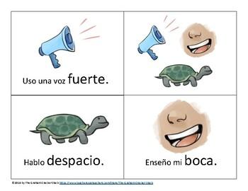 FREEBIE- Estrategias para el habla claro (español)