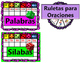 FREEBIE Etiquetas para los Centros de Sonidos SilabasPalab