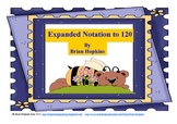 FREEBIE Expanded Notation to 120 Bear Themed