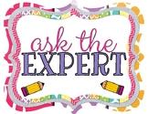"FREEBIE: ""Expert"" Sign"
