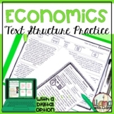 FREEBIE: Exploring Text Structure: Basic Economics