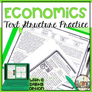 FREEBIE: Exploring Text Structure: Basic Economics