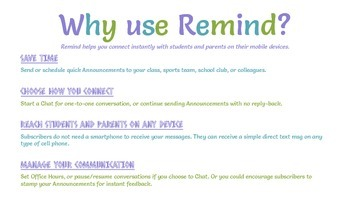 FREEBIE! Extremely Helpful Remind App Tutorial for Teachers