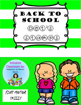 FIRST DAY OF SCHOOL DOT STAMP