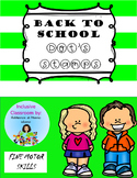 FIRST DAY OF SCHOOL DOTS STAMP Bilingual