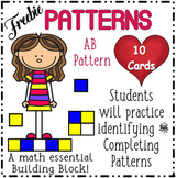 FREEBIE! FREEBIE! AB Patterns with Sound Boom Cards