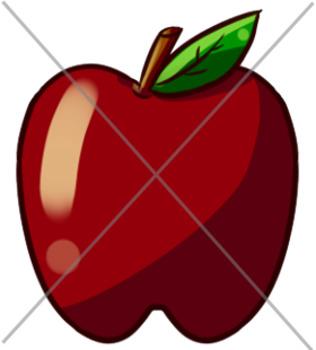 FREEBIE! FREEBIE! Back to School Apple Clip Art