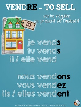 *FREEBIE* FRENCH VERB POSTERS