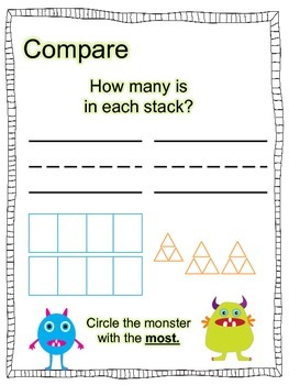 FREEBIE FRIDAY: Comparing Quantities for K5