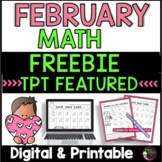 3rd Grade Math for February- FREEBIE