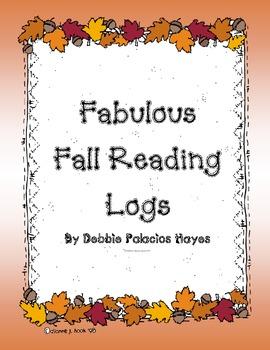 Fabulous Fall Reading Logs FREEBIE!