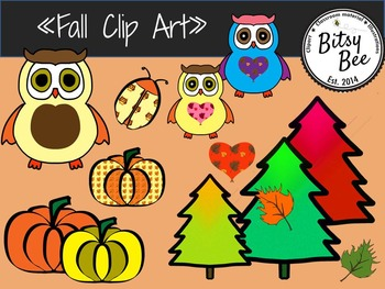 "FREEBIE  ""Fall, Autumn Clip Art."""