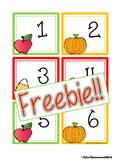 FREEBIE Fall Calendar Cards {ABCC Pattern}
