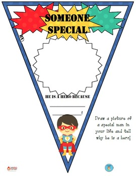 FREEBIE Father's Day Pennant Banner Worksheet