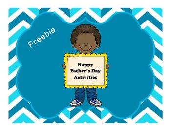 FREEBIE Father's Day Writing Graphic Organizer