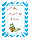 FREEBIE  Favorite Book Story Elements Graphic Organizer