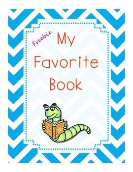 FREEBIE  Favorite Book Story Elements Graphic Organizer
