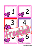 FREEBIE February Calendar Cards {AABC Pattern}