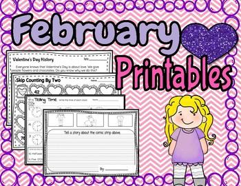 FREEBIE February Printables
