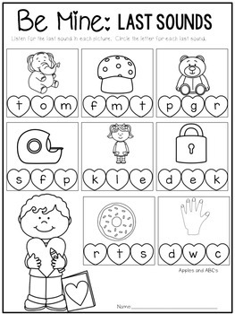 FREEBIE: February Small Group Intervention for Kindergarten