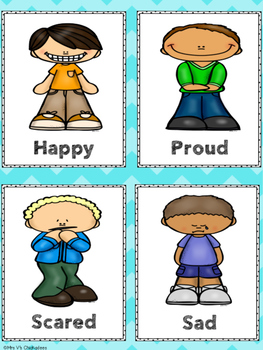 FREEBIE! Feelings Chart