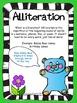 FREEBIE Figurative Language Alliteration Poster and Lesson Sample Set