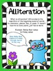 FREEBIE Figurative Language Alliteration Poster and Lesson