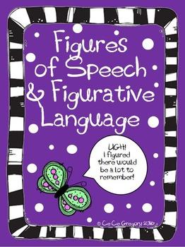 FREEBIE Figures of Speech and Figurative Language Classroo