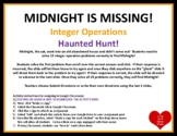 Find Midnight the Cat!  INTEGER OPERATIONS Pick and Click