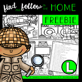 FREEBIE: Find and Follow In the Home