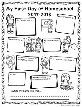FREEBIE - First Day and Last Day of Homeschool Poster Set