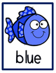 FREEBIE--Fish Themed Color Word Posters