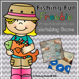 {FREEBIE} Fishing Fun! Matching Ten Frames to Numerals 1-20
