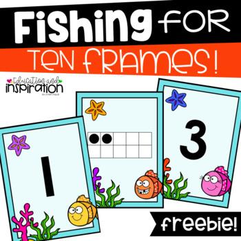 FREEBIE Fishing for Ten Frames