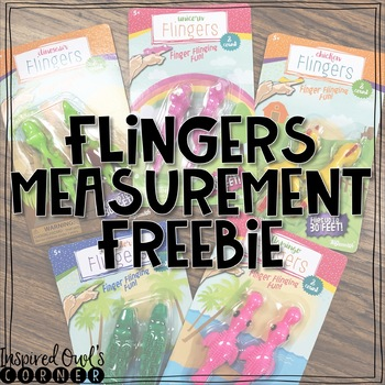 FREEBIE Flingers Measurement Activity
