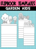 Editable Flipbook Templates : Garden Kids of Spring (Topper Version)