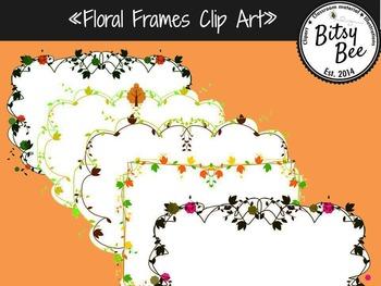 FREEBIE Floral Frames