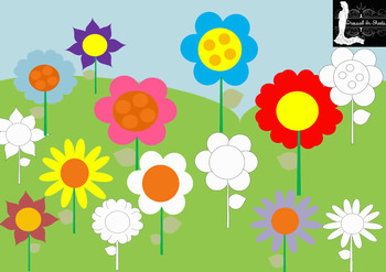 FREEBIE - Flower Bloom Clip Art
