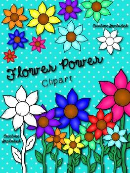 *FREEBIE* Flower Power Clipart