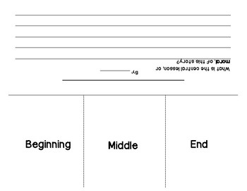 Foldable craftivity: Plot and theme activity for ANY book!