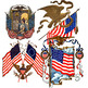 FREEBIE Found Treasures: Patriotic America Clip-Art