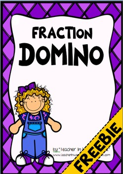 FREEBIE Fraction Domino